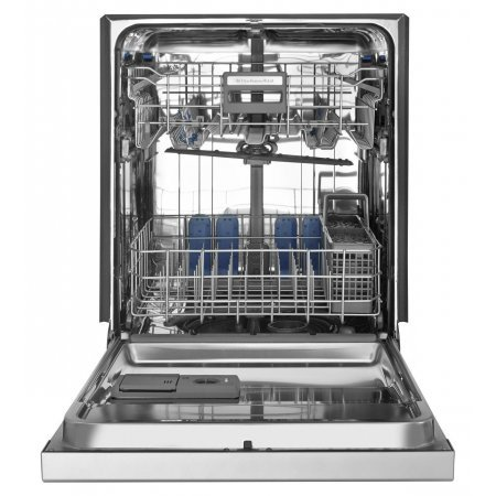 Countertop Dishwasher Pots Pans : The Blombergs sliding cutlery basket and adjustable upper rack offer ...