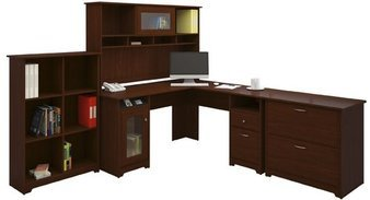 BUSH FURNITURE Bush Furniture Cabot L-Desk