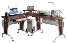 RTA Modern Office L-Shape Desk