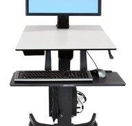 Ergotron WorkFit-C Single HD Sit/Stand Workstation