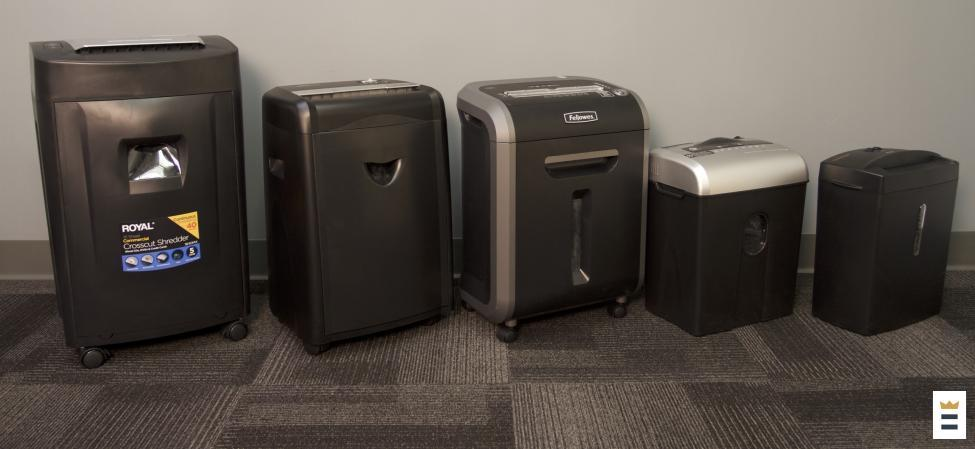 shredders left to right royal 1840mx fellowes 79ci amazonbasics