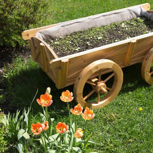 people have been using wood for hundreds of years and itu0027s an undeniably attractive material for a yard cart however steel and plastic yard carts are