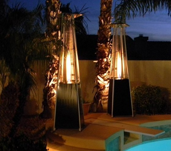 Elegant Glass Tube Patio Heaters Combine Electric And Propane Technology. For This  Reason, They Are Very Popular U2014 And Also Quite Expensive.