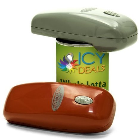 automatic one touch electric can opener
