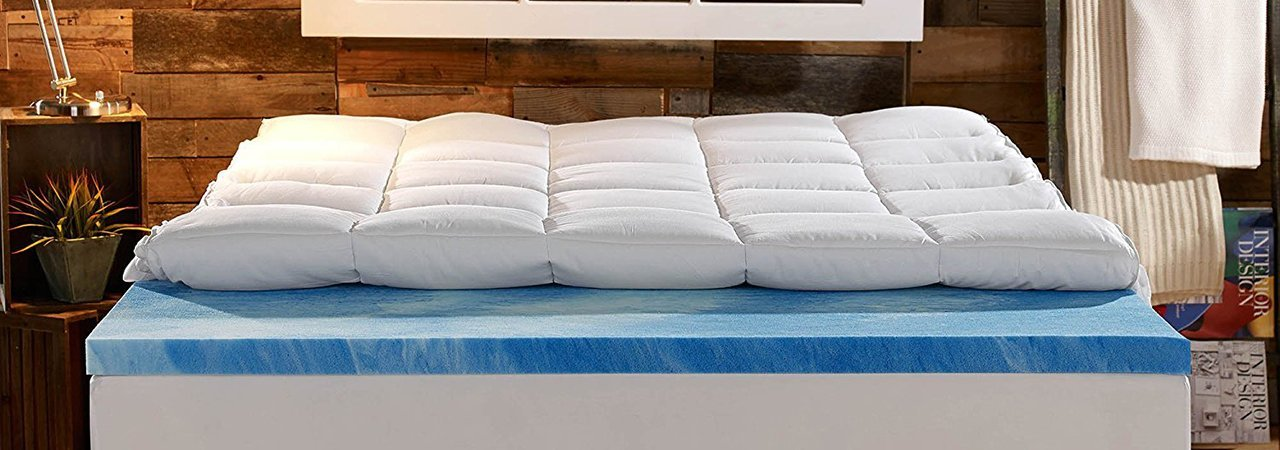 5 best mattress toppers may 2018 bestreviews
