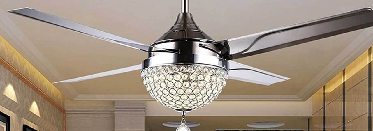 5 best chandelier ceiling fans july 2018 bestreviews mozeypictures Choice Image
