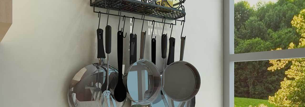 5 Best Pot Racks - June 2019 - BestReviews