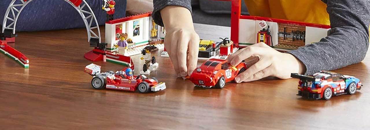 LEGO Speed Champions Ferrari F40 Competizione Building Toy Kit Box Set Lot New