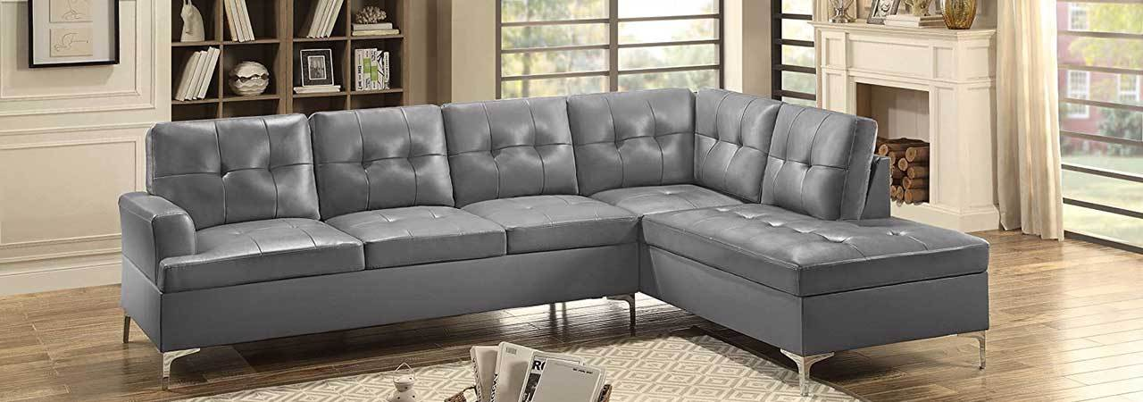 Prime 5 Best Faux Leather Sectionals Dec 2019 Bestreviews Pdpeps Interior Chair Design Pdpepsorg
