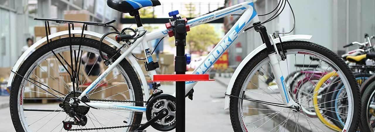 Homend Foldable Heavy Duty Wall Mount Bike Repair Stand Bicycle Maintenance Rack
