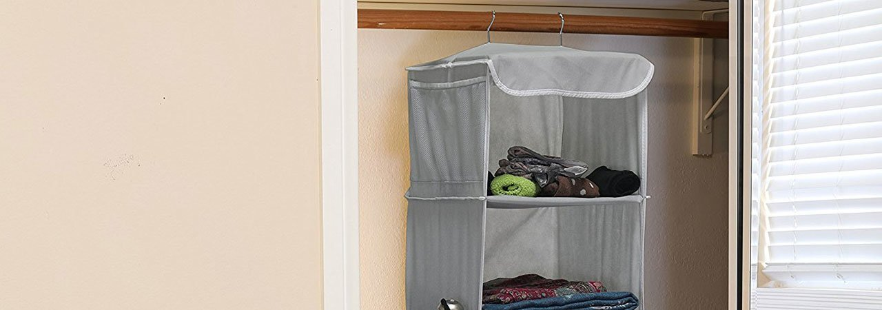 5 Best Hanging Closet Organizers - June 2019 - BestReviews