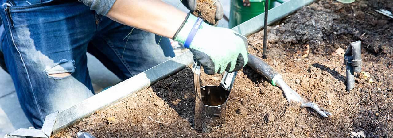 Gardening Hole Makers Quality Garden Tool Set Dibber and Bulb Planter
