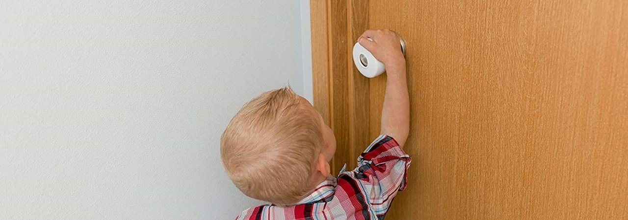 Covers Little Giggles 4 Pack Child Proof Doors Door Knob Safety Cover