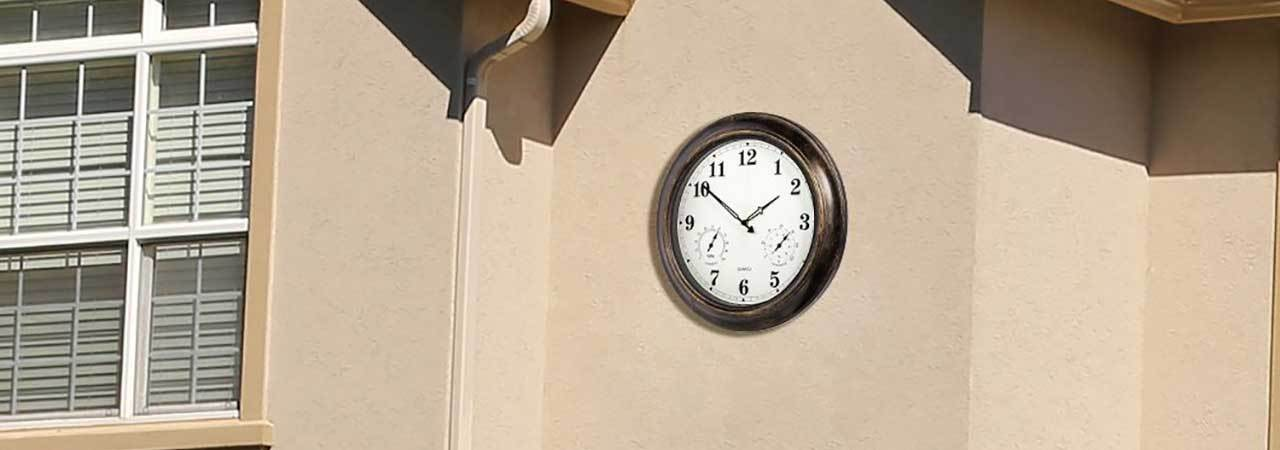 f97cd9a48c6 5 Best Outdoor Clocks - Apr. 2019 - BestReviews