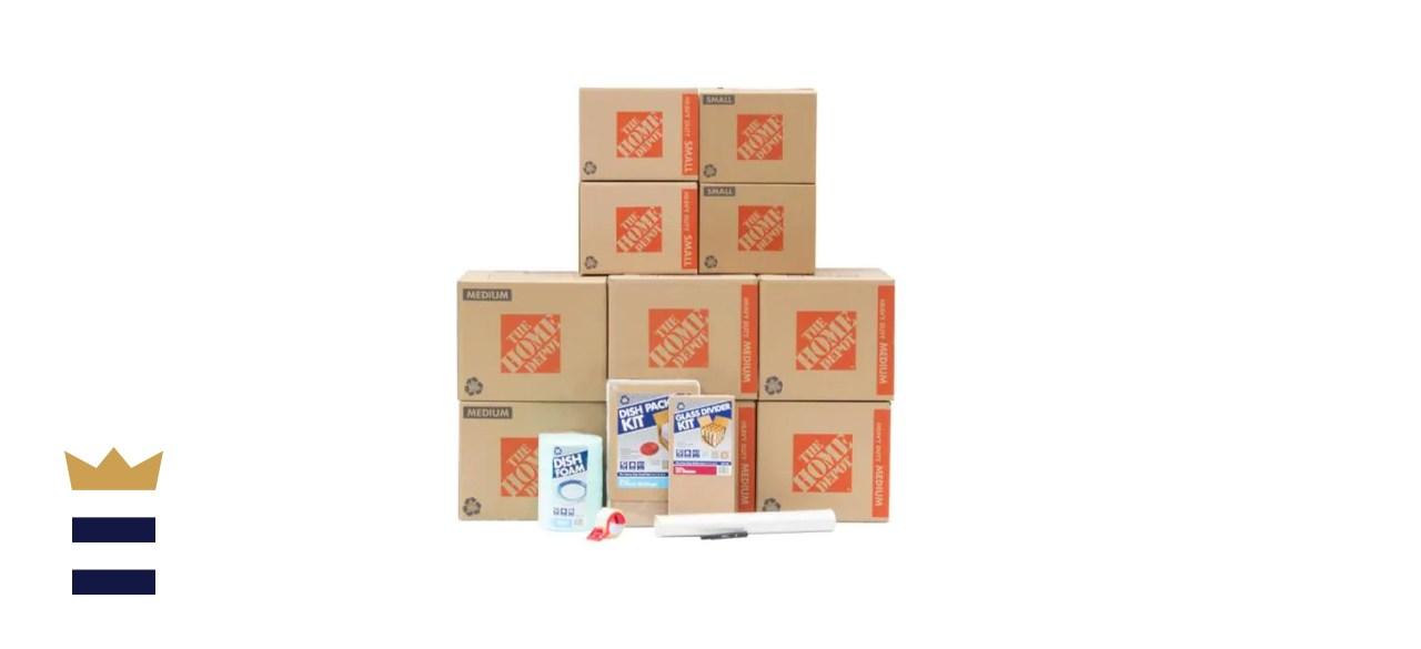 10-Box Kitchen Moving Box Kit