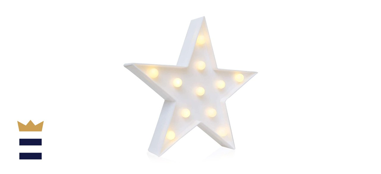 10-inch star marquee
