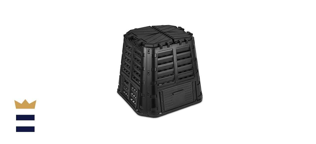 110 Gallon Garden Composter Bin Made from Recycled Plastic