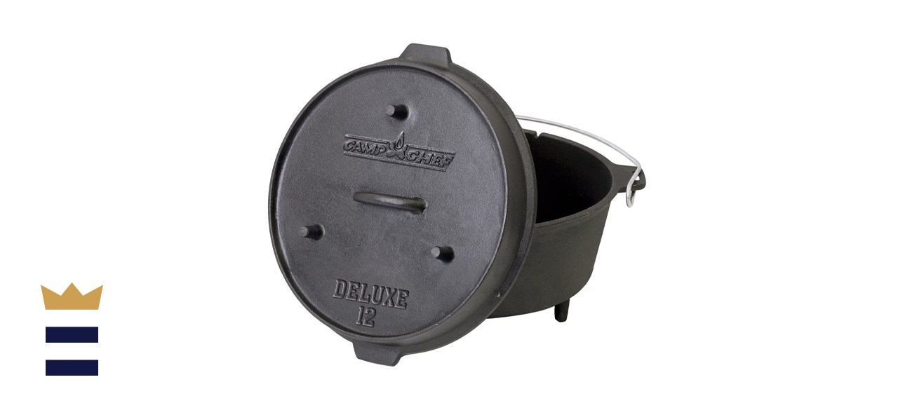 12-inch Cast Iron Deluxe Dutch Oven