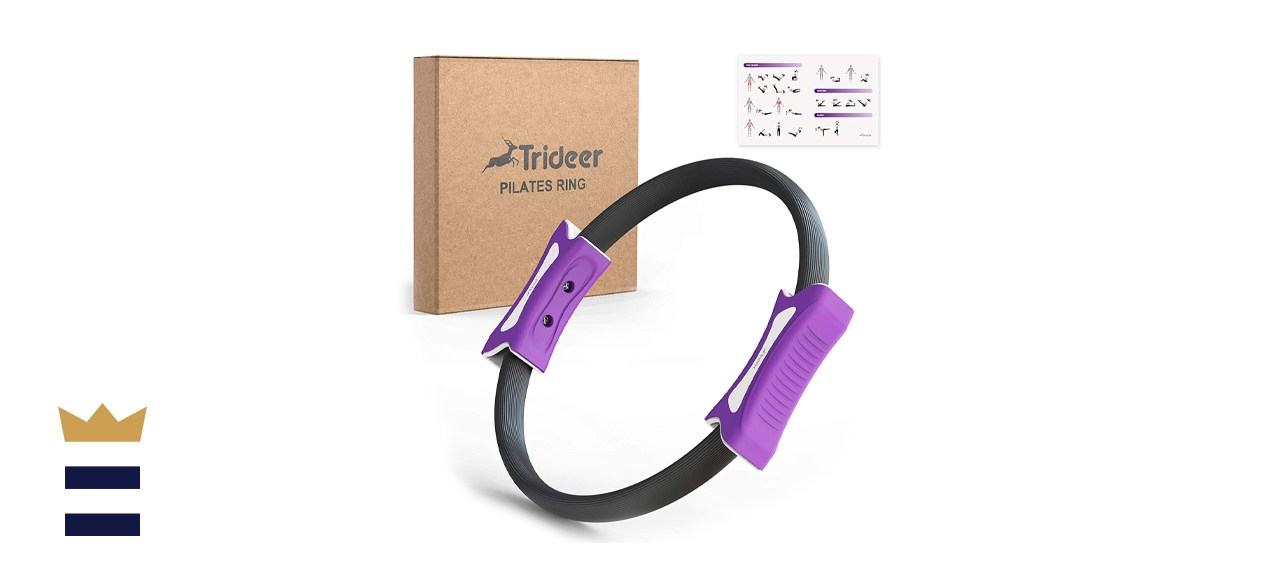 Pilates Ring 12 Inch Magic Fitness Circle for Home Resistance Exercise Yoga Ring