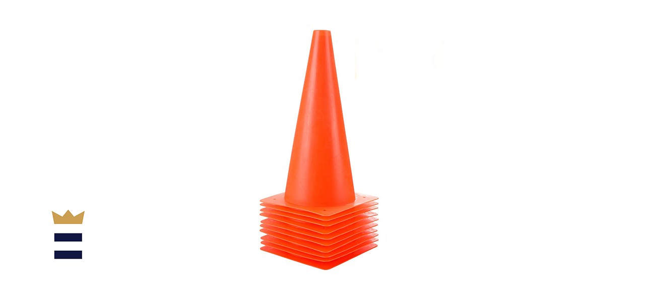 12-Inch Plastic Training Cones