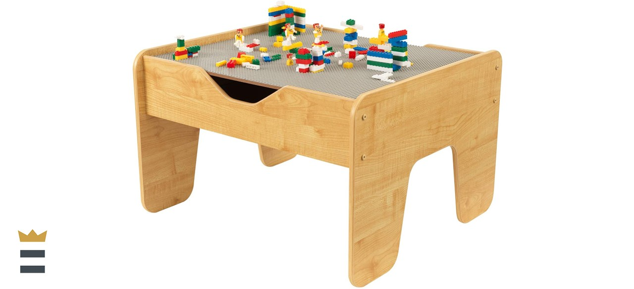 KidKraft Gray 2-in1 Square Play Table