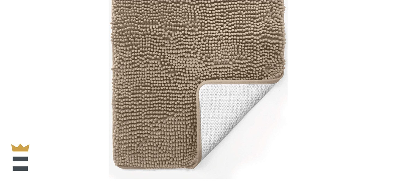 Gorilla Grip Luxury Chenille Bath Mat