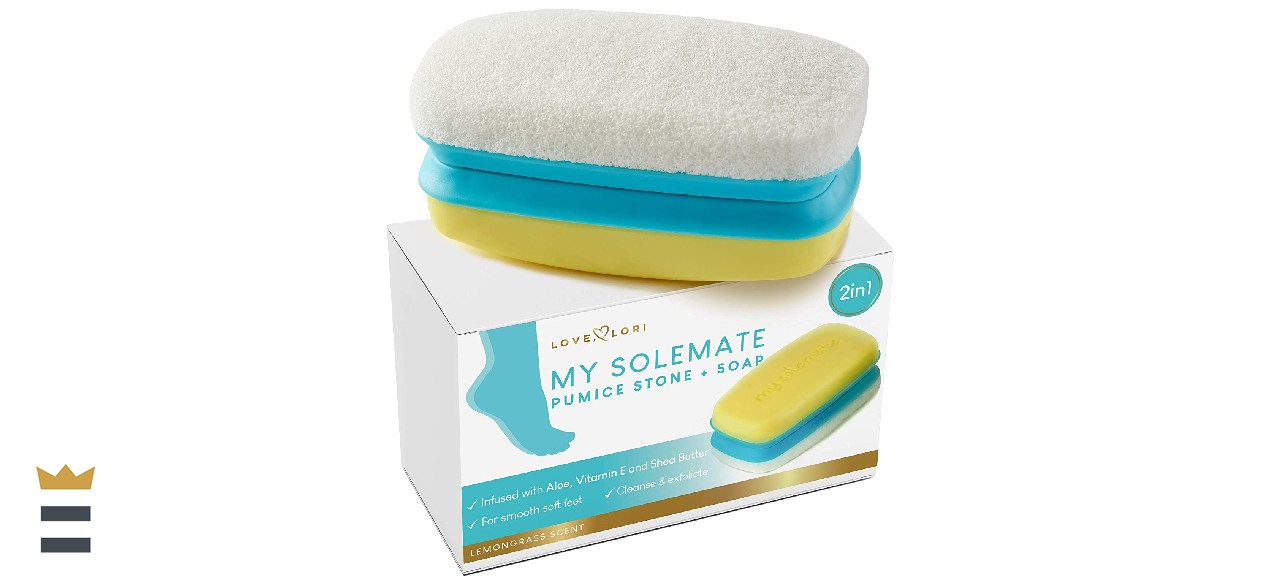 My Solemate 2-in-1 Foot Pumice Stone & Foot Scrubber