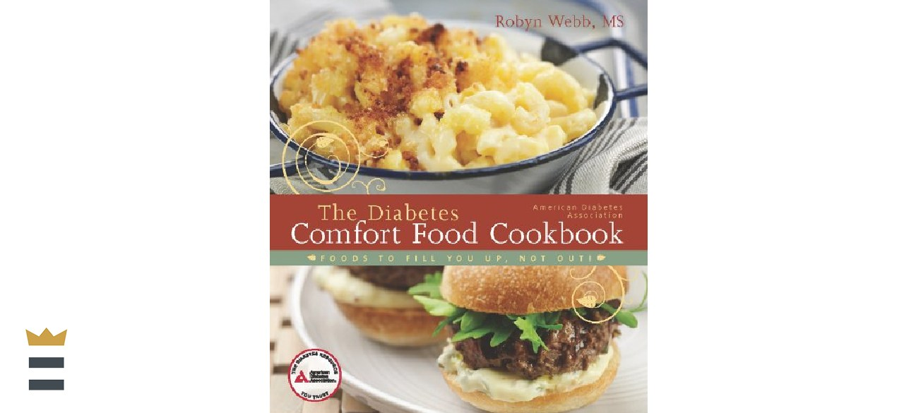 The Diabetes Comfort Food Cookbook by American Diabetes Association