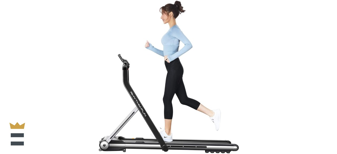 Rhythm Fun Folding Treadmill