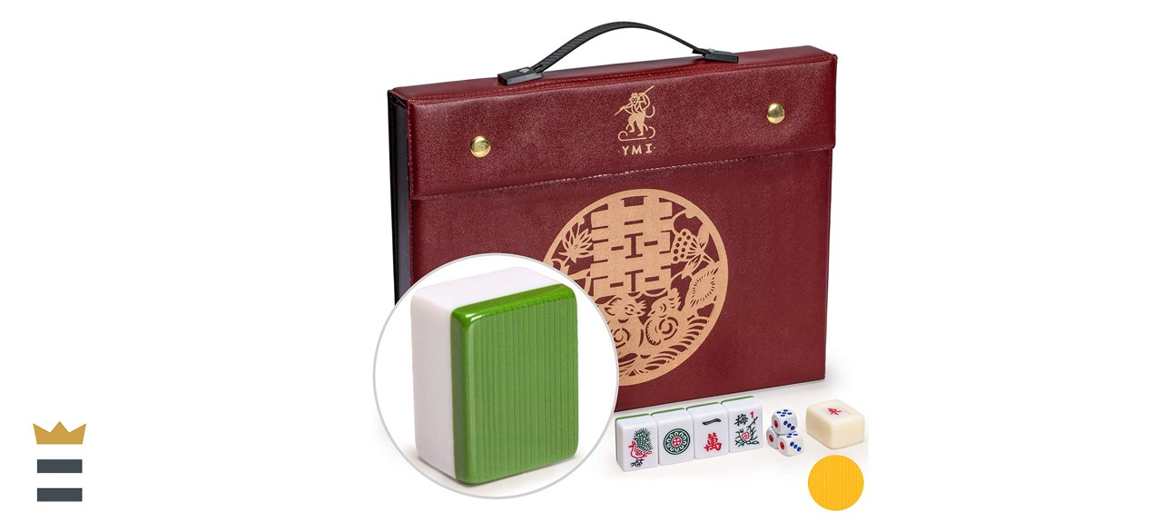 Yellow Mountain Imports Professional Chinese Mahjong Game Set