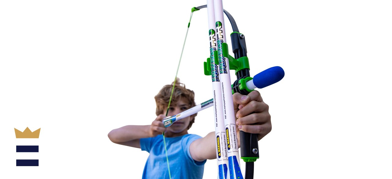 Marky Sparky Faux Bow and Patented Arrow Archery Set