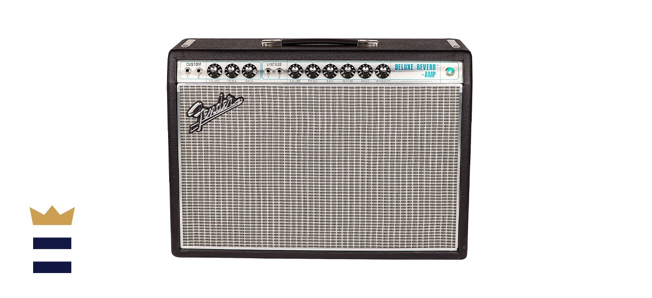 Fender 1968 Reissue Deluxe Reverb 20-Watt Tube Amplifier with Reverb and Tremolo