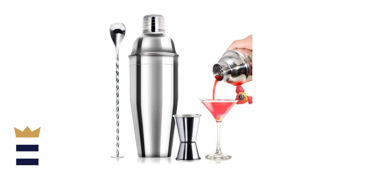 24-ounce Cocktail Shaker Bar Set