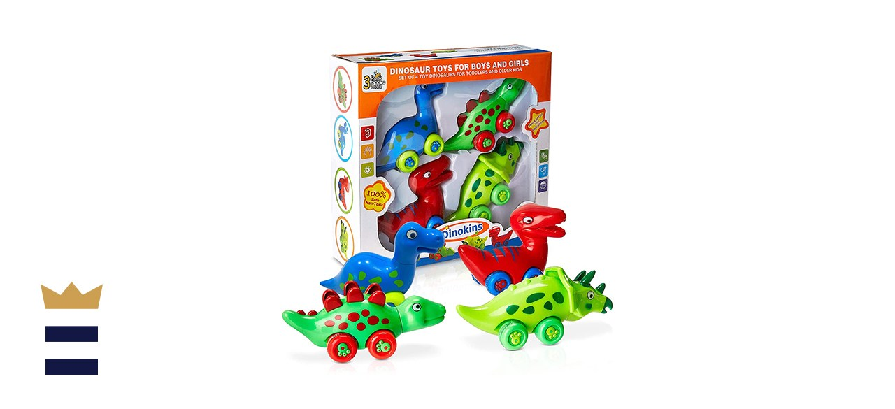 3 Bees Me Dinosaur Car Toys