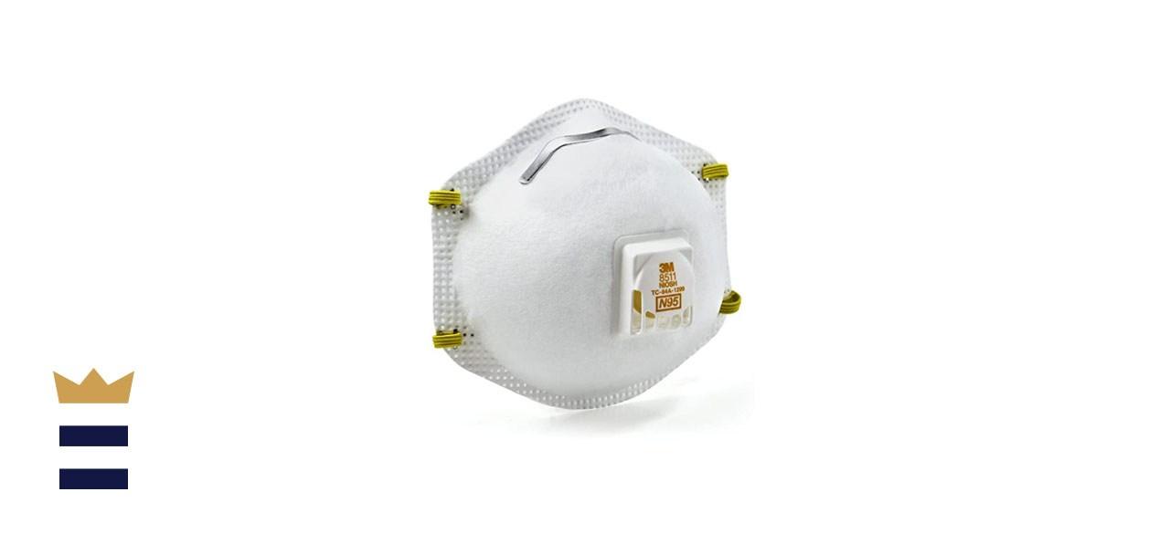 3M Paint Sanding Valved N95 Cool-Flow Respirator
