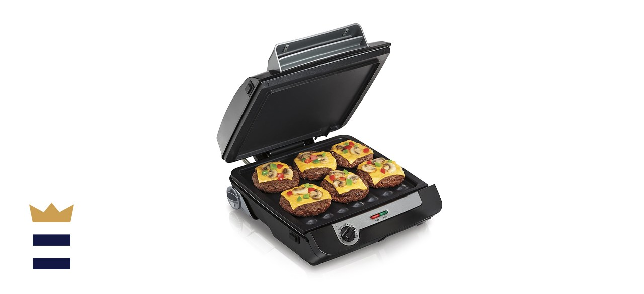 4-in-1 Grill & Griddle Combo