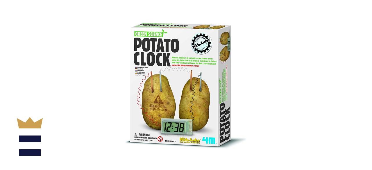 4M Potato Clock DIY Green Science Chemistry Engineering Lab