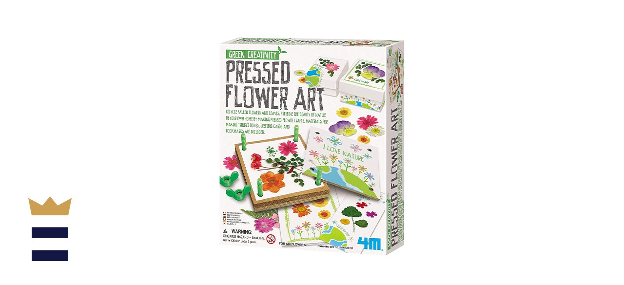 4M Pressed Flower Kit Art