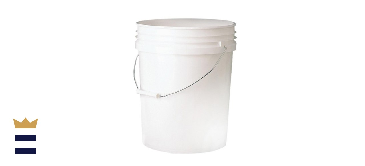 5 gal. 70mil Food Safe Bucket White