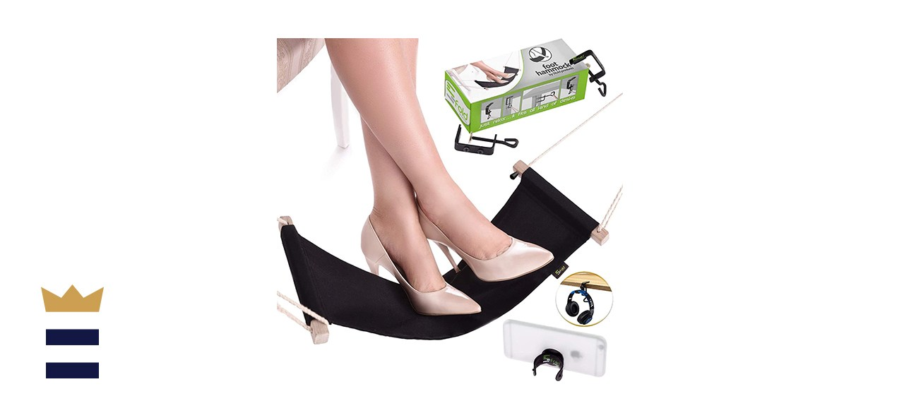 5Fold Products Under Desk Foot Hammock