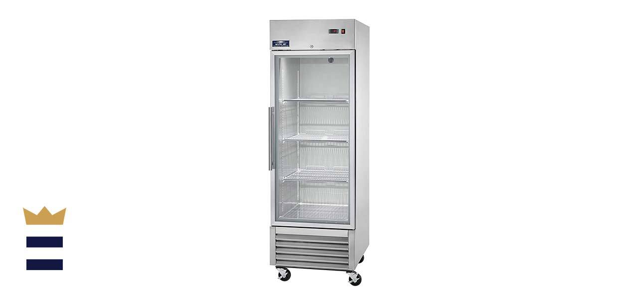 """Arctic Air AGR23 27"""" One Section Glass Door Reach-in Refrigerator"""