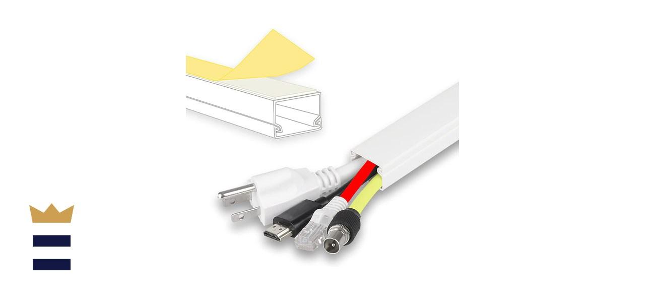 A+ ELECTRICS 315-inch Cord Cover + 32 Pcs Connectors