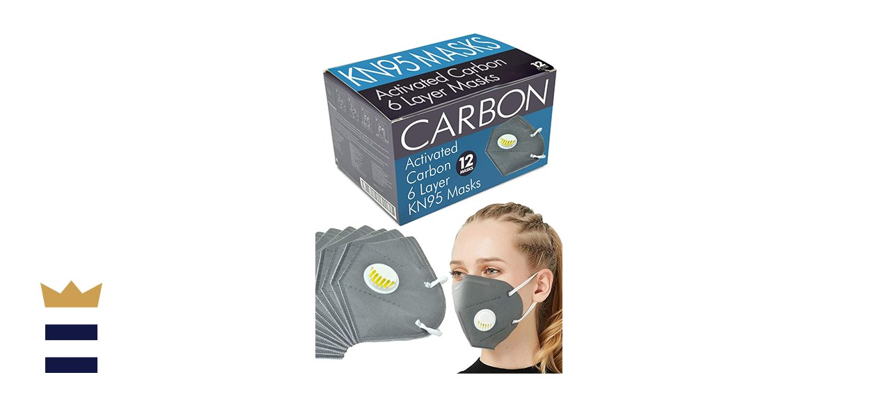 Activated Carbon 6-Layer KN95 Masks