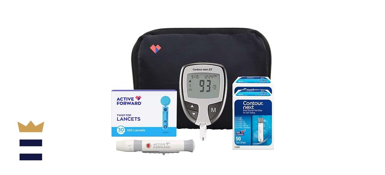 Active Forward Contour Next EZ Diabetes Testing Kit