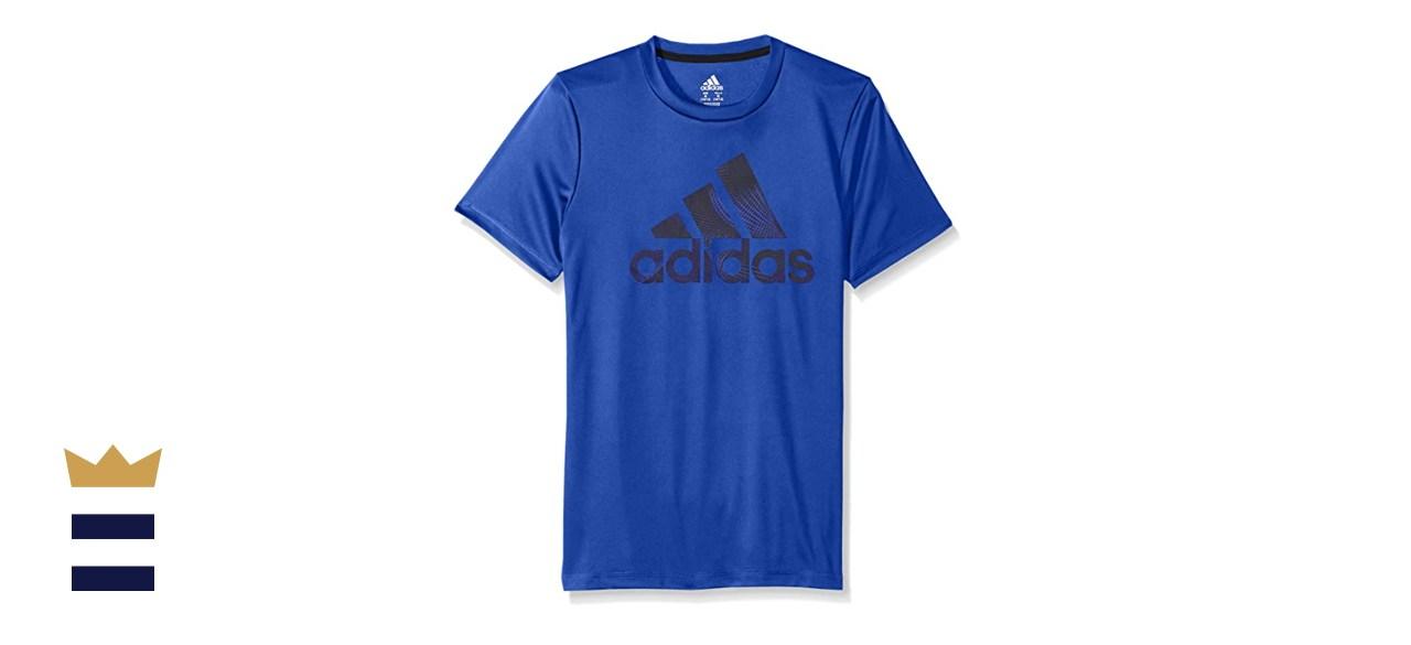 Adidas Boys' Short Sleeve Logo Tee