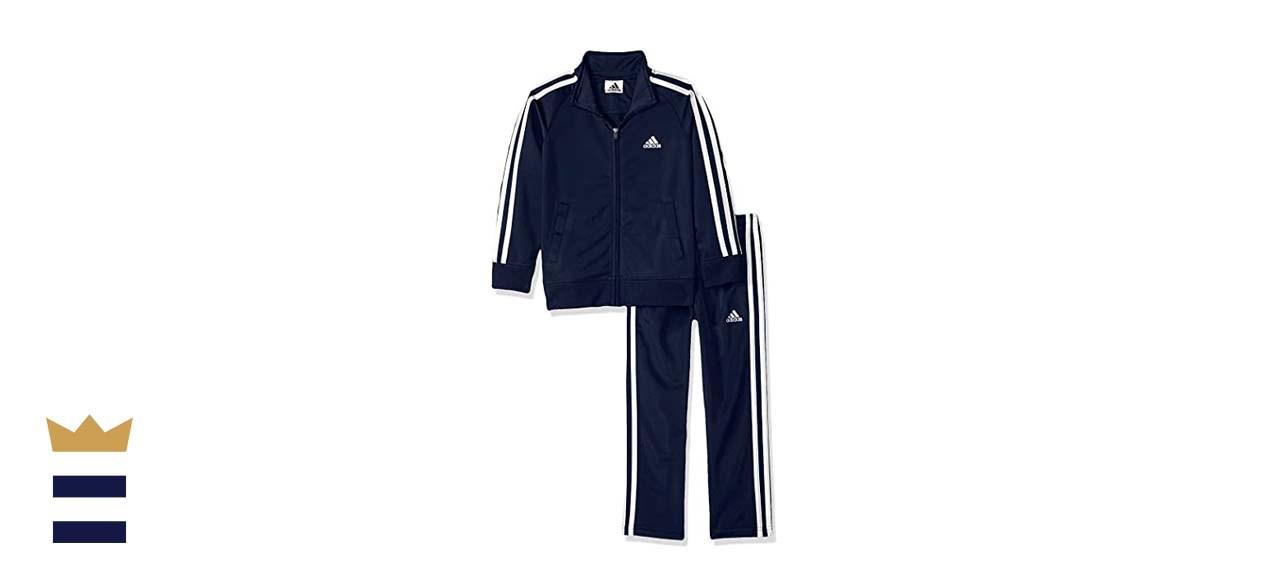 Adidas Boys' Tricot Jacket and Pant Clothing Set