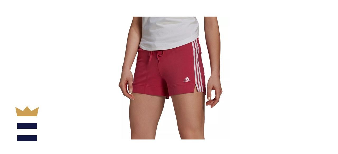 Adidas Essentials Slim 3-Stripes Shorts