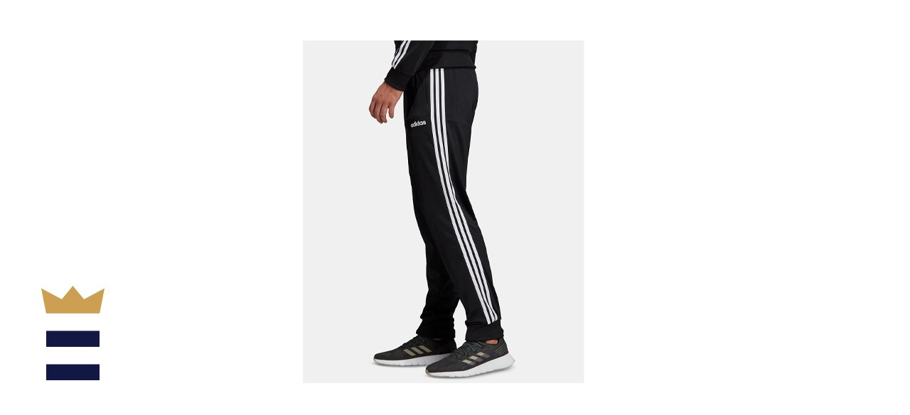 Adidas Men's Essentials 3-Stripes Tapered Tricot Jogger
