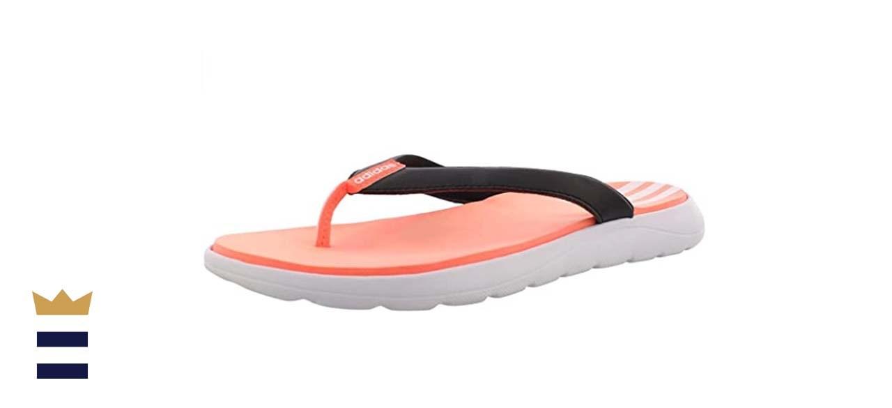 Adidas Women's Comfort Flip Flop Slide Sandal