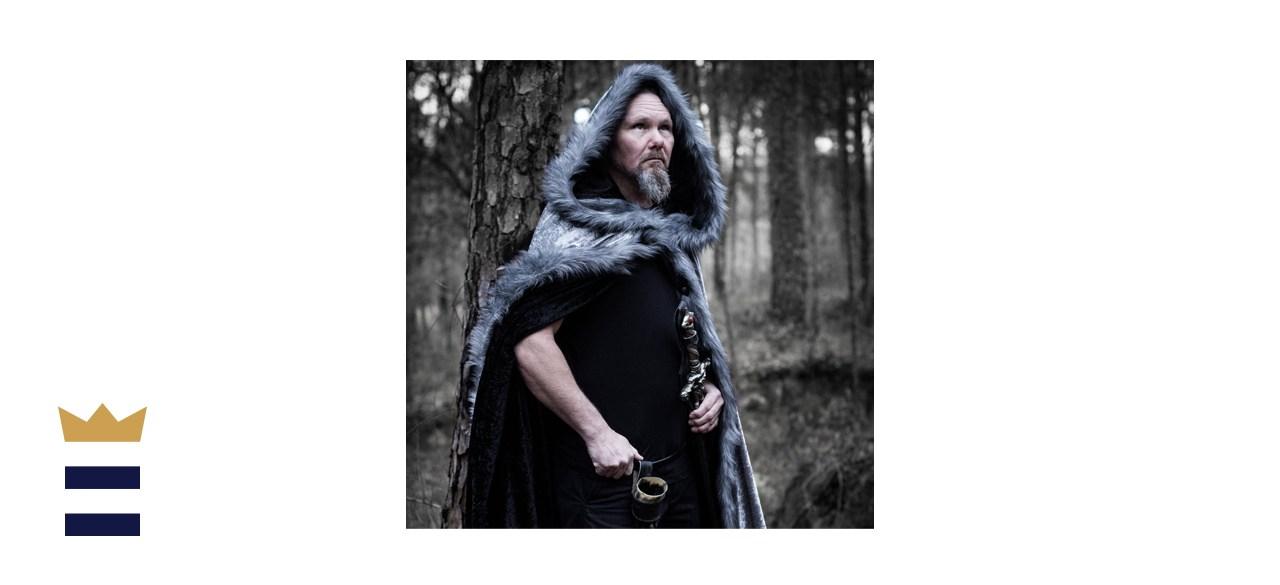 Adult Medieval Hooded Cloak